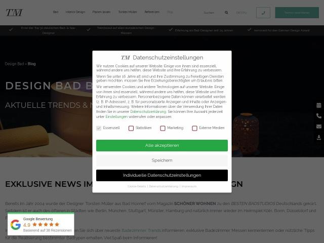 Exklusive News im Bad-, Spa- und Interior-Design