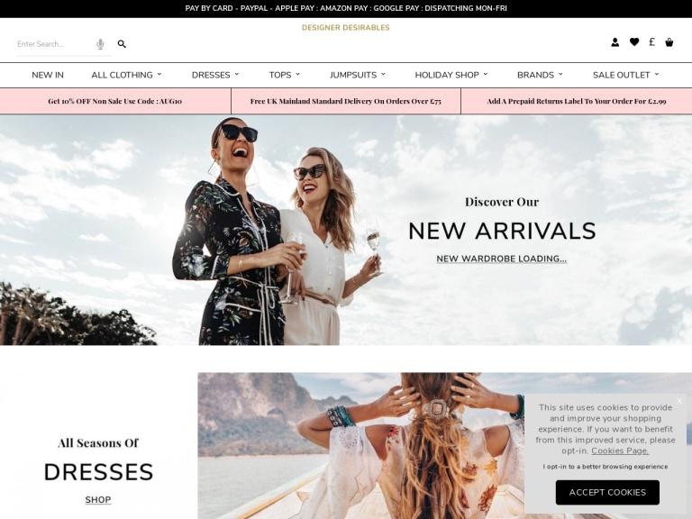 Designer Desirables screenshot