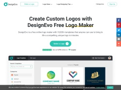 DesignEvo screenshot