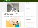 Paint Sprayer For Universal Use Walls And Ceilings