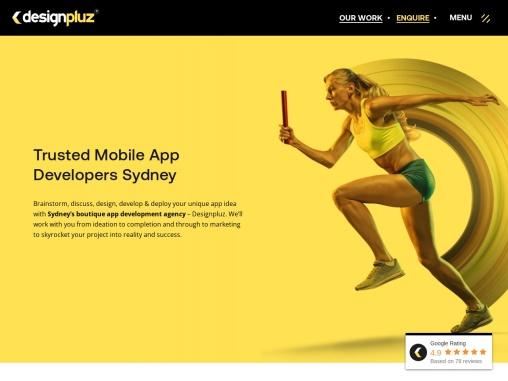 app development Sydney Designpluz