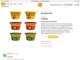 Breakfast Pack | Instant Breakfast Items | Desi Mealz