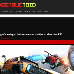 Rocket League's next-gen features are much better on Xbox than PS5 – Destructoid