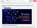 Ready to start your Smart contract MLM on Tron blockchain?