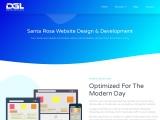 Santa Rosa Webstie Design   DGL Media
