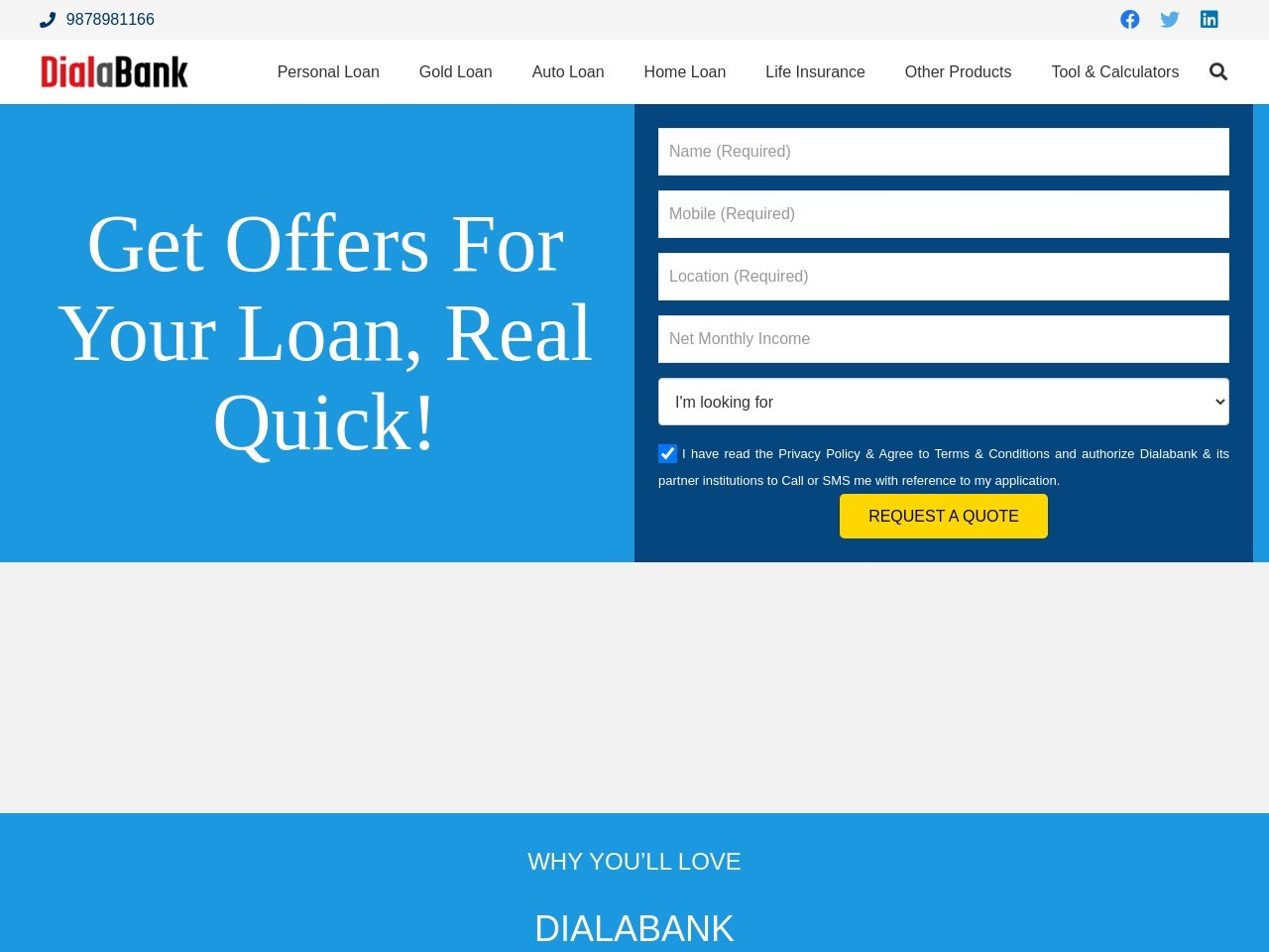 Personal Loan Nelamangala