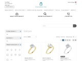 Solitaire engagement rings in Chicago