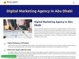 Digital marketing services in abudhabi