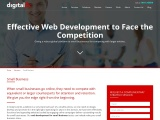 Giving the  web design solutions to small business to compete with their competition- DigitalFlic