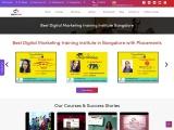 Best Digital Marketing training institute in Bangalore