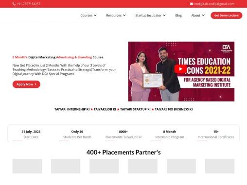 DSA – Best Digital Marketing Training & Institute