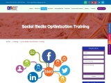 Social Media Optimization Course, Training, Certificate, Marketing.