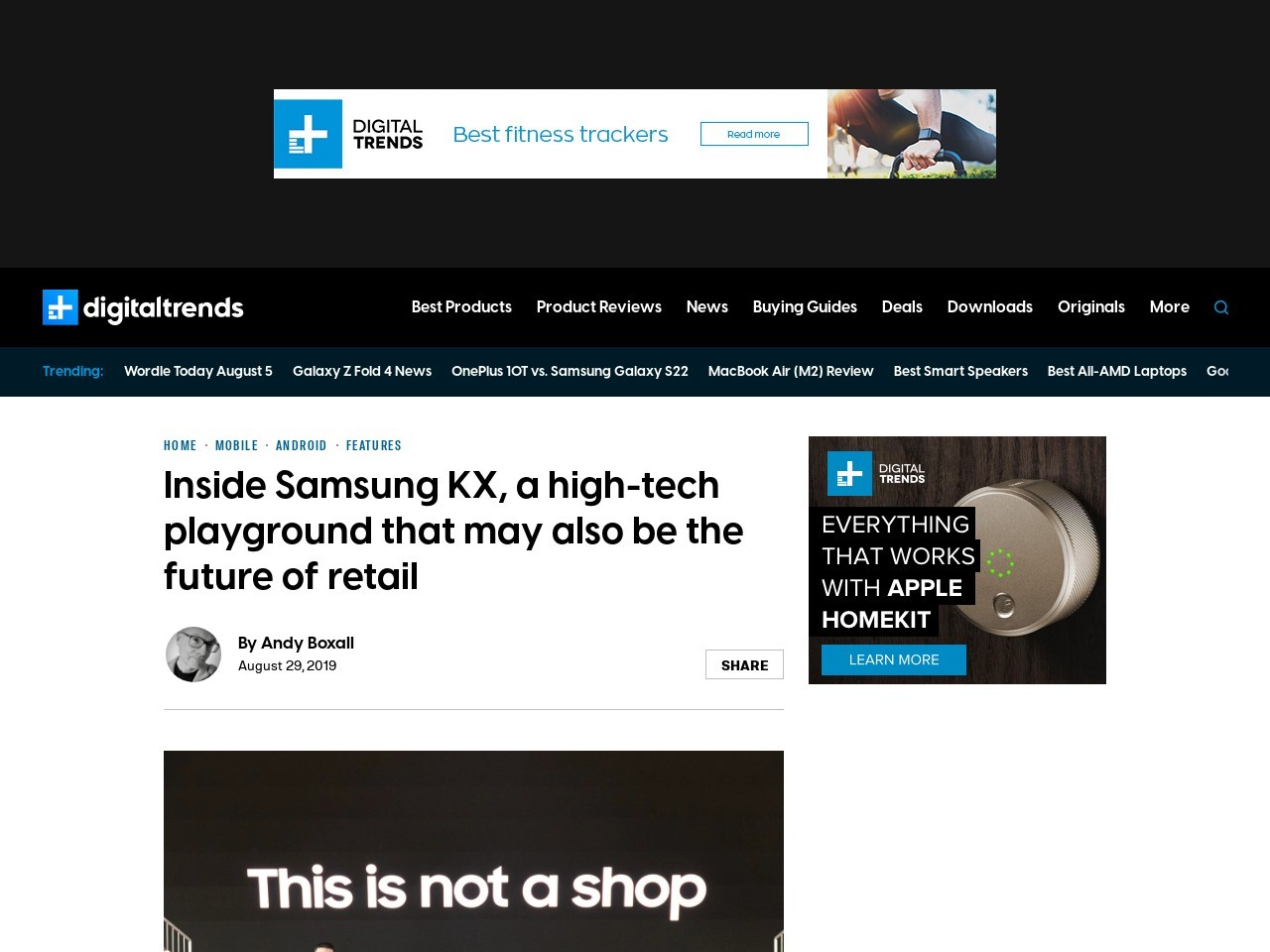 Inside Samsung KX, a Tech Playground That May be the Future of Retail