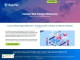 Custom Web Design in Melbourne