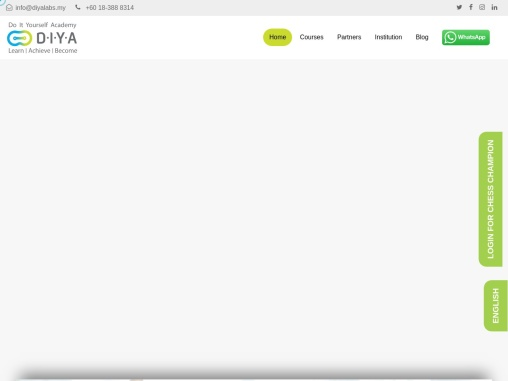 Programming Courses Malaysia | Do It Yourself Academy
