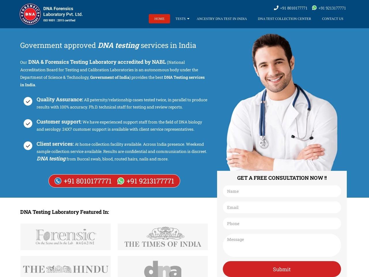 Best DNA Testing Lab In Ludhiana