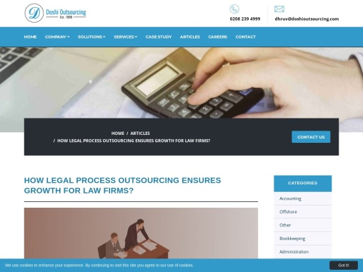 How Legal Process Outsourcing Ensures Growth for Law Firms?