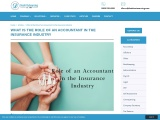 What is the Role of an Accountant in the Insurance Industry