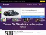The new Fiat 500e electric car with 95hp