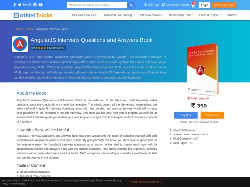 Best Angularjs interview questions and answers pdf -Dot Net Tricks