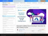 Microsoft Certified Azure Developer Associate AZ-203 Training Course
