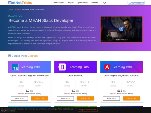 How to become a mean stack developer – Dot Net Tricks