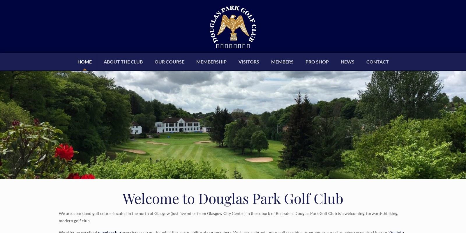 Preview of https://www.douglasparkgolfclub.co.uk/