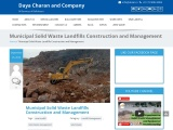 Municipal Solid Waste Landfills Construction and Management