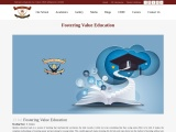Fostering Value Education | CBSE Affiliated School in Garhshankar