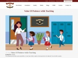 Value Of Patience while Teaching | Schools in Garhshankar