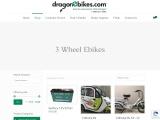3 Wheel E bikes | Dragon E bikes