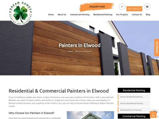 Residential & Commercial Painters in Elwood