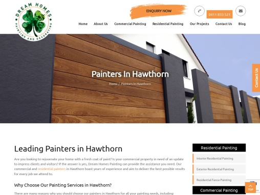 Painters in Hawthorn | Commercial & Residential Painters Hawthorn