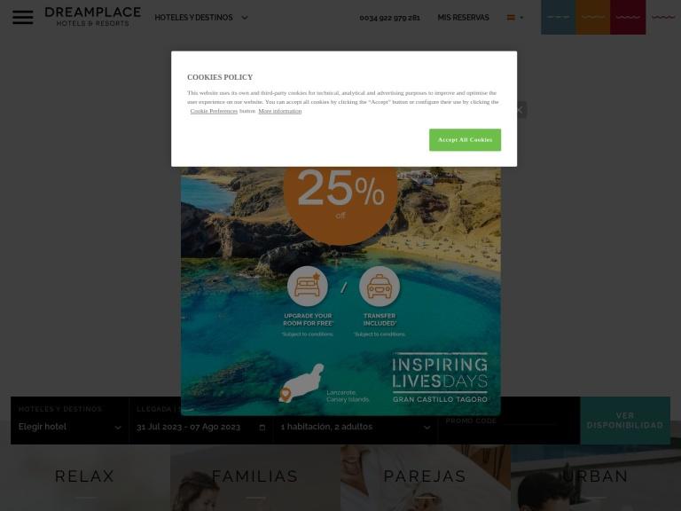 Dreamplace screenshot