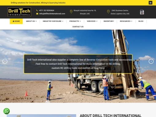 Drilling consumables | Drilling Equipments |Drilling systems and solutions | Drilling Suppliers