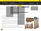 Drilltech Reverse Circulation Hammers – Middle East, Africa | Reverse Circulation Hammers Dubai