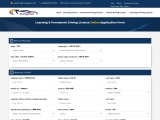 Learning & Permanent Driving Licence | DL Online Application Form