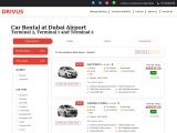 Car Rental Dubai Airport Terminal 1, Terminal 2, Terminal 3, Rent a Car Dubai Airport