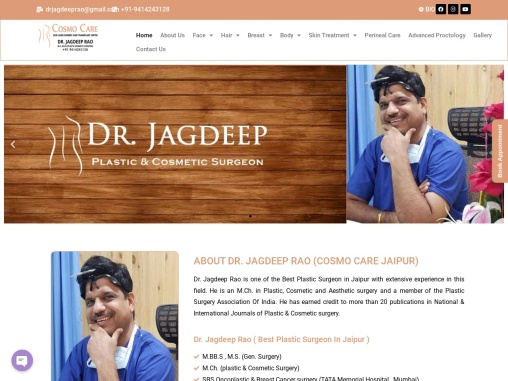 Best Cosmetic Surgery in Jaipur