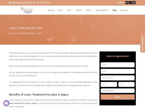 Laser Treatment for Piles in Jaipur