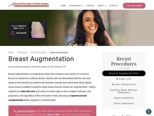 Breast Augmentation in San Antonio