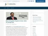 Best Orthopedic Surgeon in Surat, India | Dr Chirag Patel