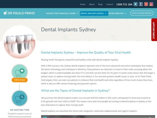 Digital Dental Implants in Sydney at Affordable Fee Structure