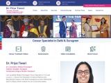 Best Cancer Specialist in Delhi | Medical Oncologist in Delhi | Dr. Priya Tiwari