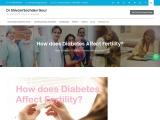 How does Diabetes Affect Fertility?