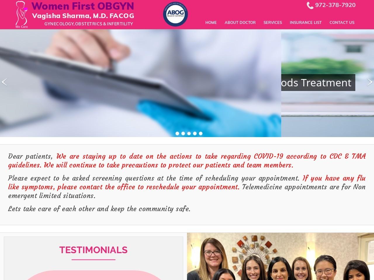 High Risk Pregnancy Specialist in Plano| Laparoscopic Surgery Specialist Tx