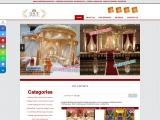 ASIAN WEDDING MANDAPS MANUFACTURER
