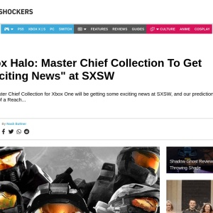 """Xbox Halo: Master Chief Collection To Get """"Exciting News"""" at SXSW"""
