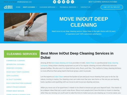 Best Deep Cleaning Services in Dubai – Dubai Clean