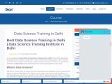 Data Science Training in Delhi